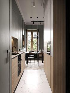 Un appartement classique chic par Cartelle Design - PLANETE DECO a homes world