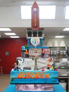Hoboken cake #CakeBoss