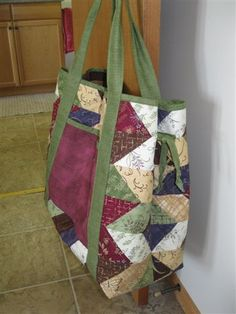 """Take It All"" tote all ready to go"