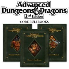 [PRE-VENDA] Players Handbook, Dungeon Master Guide e Monster Manual 2nd Edition Premium Reprint - Novos