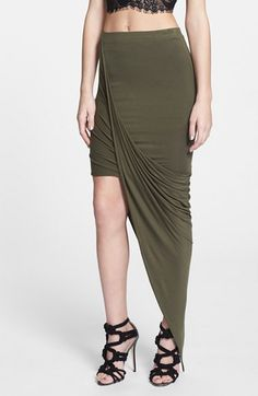 Dirty Ballerina Asymmetrical Twist Body-Con Skirt | Nordstrom. (waitied 24 hours to order and it's already unavailable)