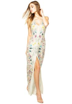 Vestido Longo Lança Perfume Off White - Marca Lança Perfume