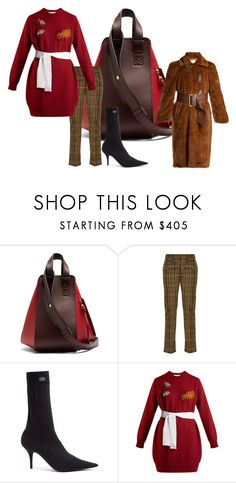 """""""The Rectangle - The Fashion Forward - Weekend Look"""" by melaniemorel on Polyvore featuring Loewe, Toga and Balenciaga"""
