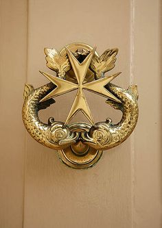 Our doorknockers are nothing if not charming. #Malta