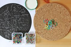 Kids' Astronomy Project: Constellation Geoboards - Babble Dabble Do Science Fair Projects, Projects For Kids, Diy For Kids, Crafts For Kids, Space Projects, Science Ideas, Life Science, Stem Activities, Activities For Kids