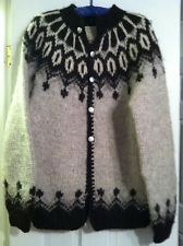 HILDA LTD WOOL Sweater. Made In ICELAND!!! All Natural Colors. RARE FIND!!!!