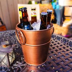 BREKX Berkshire Copper Finish Wine Bucket now just $14.95.  Use coupon code for Free Shipping + 20% Off all orders today!