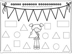 Preschool Worksheets, Coloring Pages, Kindergarten, Homeschool, Lily, Classroom, Shapes, Writing, Math