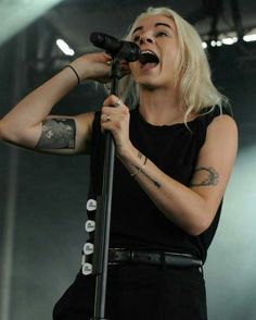 Lynn Gunn PVRIS her new Tattoo❤❤