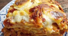 British lasagne with Bechamel and homemade ragu
