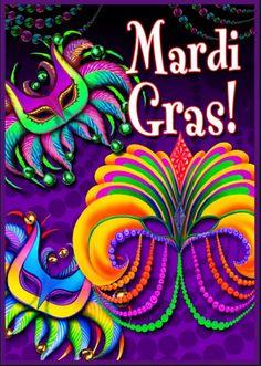 Mardi gras / Марди Гра / Встреча весны по-французски. во многом схож со славянской Масленицей. Этот карнавал предшествует началу Великого поста в католической традиции и проходит за 40 дней до Пасхи. Веселье кончается ровно в полночь с наступлением Пепельной среды.