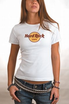 For real, this shirt never goes out of style. It's been the same basic design forever. The Hard Rock Classic t-shirt. #hardrock #classic