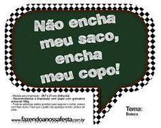 Image result for convite festa boteco