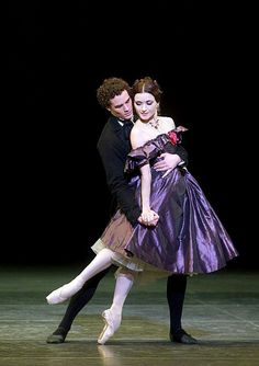Irina Dvorovenko and Cory Stearns in Lady of the Camellias. Photo by Gene Schiavone