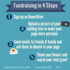 Fundraising in 4 Steps from Pennridge High School Mini-THON