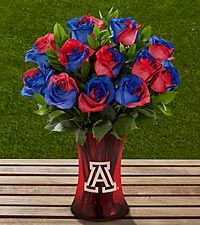Search for the ftd university of arizona wildcats rose bouquet 12 stems West Virginia University, University Of Mississippi, University Of Arizona, Kansas Basketball, Football, Arizona Wildcats, Kansas Jayhawks, Grad Parties, Rose Bouquet