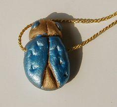 Porte-bonheur scarabée d'Egypte