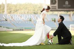 Sports wedding collabo, SPORDDING