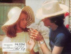 """5. Muriel Catalá e Francis Huster in """"Faustine et le bel été"""" (1972); regia: Nina Companeez (fotobusta)"""