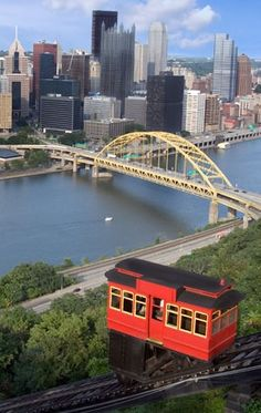 Pittsburgh, PA ~ Take a ride on the Pittsburgh Incline up Mount Washington - it's a great view of the city.