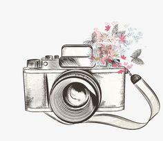 Flower camera PNG and Clipart Camera Png, Camera Icon, Digital Camera, Photo Png, Bild Gold, Camera Illustration, Camera Wallpaper, Camera Drawing, Vintage Cameras