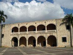 Santo Domingo, Dominican Republic: Alcazar's Exterior