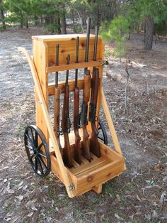 Amish Wooden Cedar Cowboy 5 Gun Cart Go my Beauty!!! http://yufibxo.tk