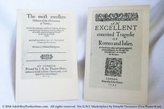 #VINTAGE NEW #Shakespeare Postcards by #FolgerShakespeare Library, Washington by ForsythTreasures @etsy, $16.00