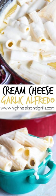 Cream Cheese Garlic Alfredo