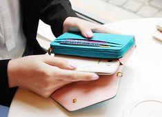 6 colors, iphone wallet, s3 wallet, phone wallet, cute wallet, simple wallet, Women's Wallets on Etsy, $23.84 CAD