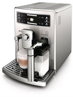 Saeco Xelsis Evo stainless steel espresso machine