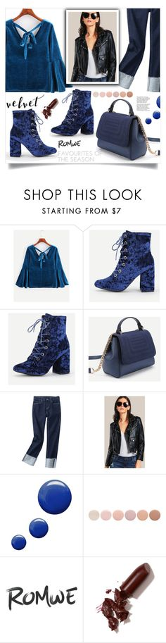 """""""Crushing on Velvet"""" by samra-bv ❤ liked on Polyvore featuring Topshop, Tiffany & Co., Deborah Lippmann and LAQA & Co."""