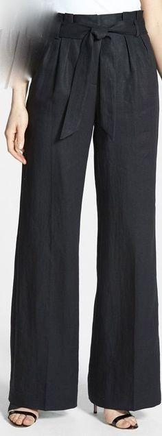 How to cut pants into shorts how to make 70 Ideas Fashion Pants, Hijab Fashion, Fashion Outfits, Womens Fashion, Baggy Pants, Trousers, Wide Pants, Marlene Hose, Pantalon Large