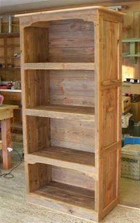 amazing barnwood bookcase