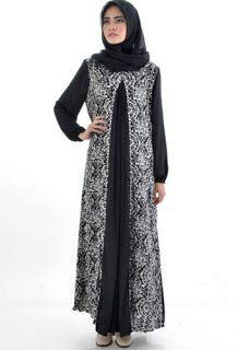 Gamis Batik Kombinasi Wanita Gemuk Batik Di 2019 Model Baju
