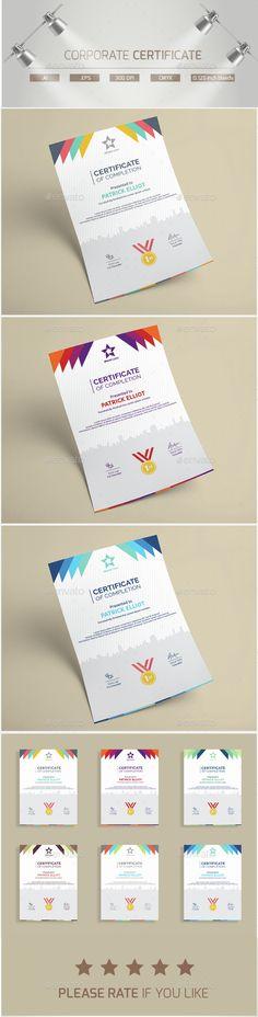 Certificate Template Certificate templates - corporate certificate template