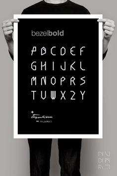 NUKMAT: // BEZEL+FONT //