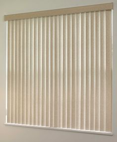 Blinds can give a modern look to your home. This curtain modernizes the room.