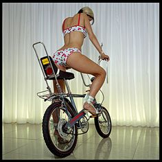 Raleigh Chopper MK2.  I always wanted one as a kid and didn't get one but managed to pick one up in a junk shop in Essex in the late Nineties.  Mine never looked quite this good.
