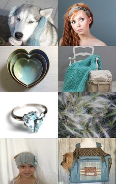 inspiration in blue by Svetlana Pershina on Etsy--Pinned with TreasuryPin.com