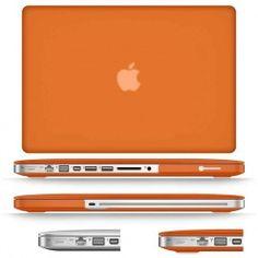 "Coque Soft-Touch Orange Macbook Pro 13"" Macbook Pro 13, Macbook Apple, Macbook Laptop, Touch, Electronics, Orange, Bun Hair, Slipcovers, Consumer Electronics"