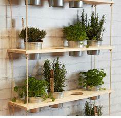 Krydderurter Decor, Floating, Floating Shelves, Home Decor, Deco