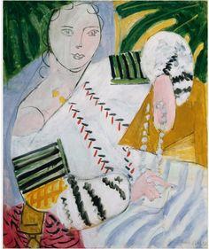 Henri Matisse The Romanian Blouse