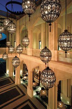 Amazing interiors at Shangri La Barr Aj Jissah