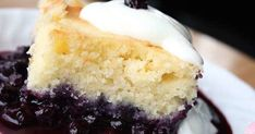 Mini Desserts, Easy Desserts, Blueberry Recipes, Vanilla Cake, Biscuits, Bakery, Cheesecake, Deserts, Muffin