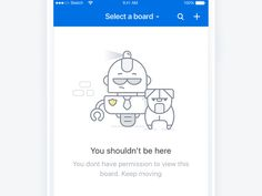 A simple animation created for one of our empty states on JIRA iOS & Android app. Didn't want anything too busy so came up with this short loop which isn't too distracting Keen to hear your th. Ui Design, Icon Design, Interface Design, Empty State, Account Recovery, 404 Pages, Ios Ui, Connect, Ui Kit