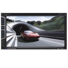 YT-F6082 6.95 inch Car DVD MP3 MP4 Player Digital Touch TFT Screen fit Big USB S