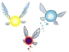 Les fées sont présentent dans presque la totalité des jeux. Elles peuvent avoir une apparence humaine, parfois avec quatre bras, mais les plus connues ont la forme d'une petite boule lumineuse dotée de quatre ailes. Exemple : Navi, Ciela.