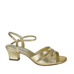 Touch Ups by Benjamin Walk Women's Monaco Shoes Synthetic Gold