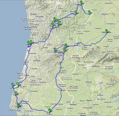 portugal 2012 circuits camping car monde pinterest voyages portugal et lisbonne. Black Bedroom Furniture Sets. Home Design Ideas